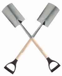 Vær dig selv i stedet for en spade!